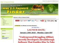 Web 2.0 Keyword Finder