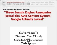 Auto Content Cash