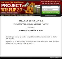 Project Site Flip 2.0
