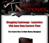 Blogging Espionage