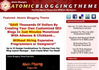 Atomic Blogging Theme