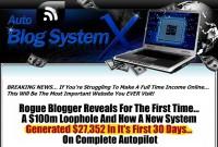 Auto Blog System X
