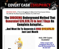 Covert Cash Conspiracy